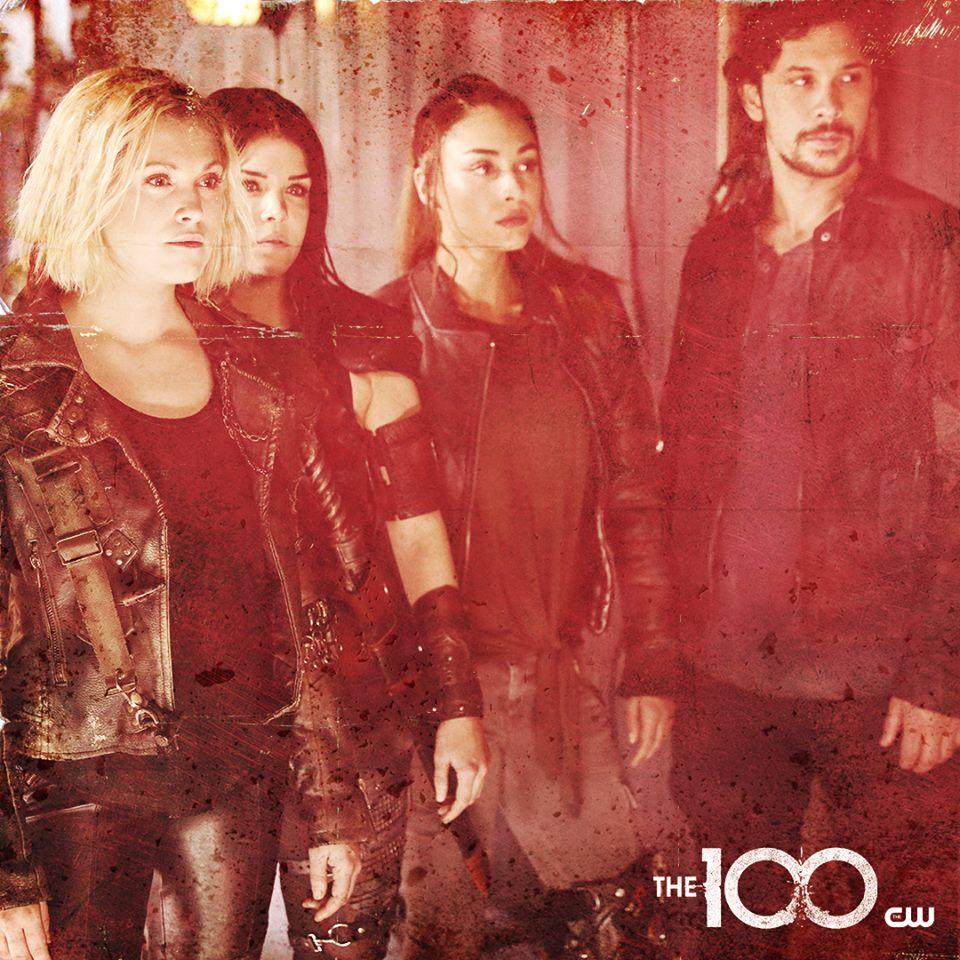 RT @The100Brasil: Nova imagem promocional da Clarke, Octavia, Raven e Bellamy para a 5ª temporada de #The100. https://t.co/cQvGw5YTYV