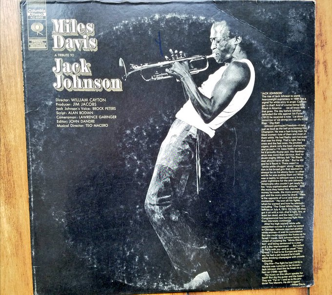 Happy 92nd Birthday, Miles! And Happy Pardon 105 years later, Jack Johnson!