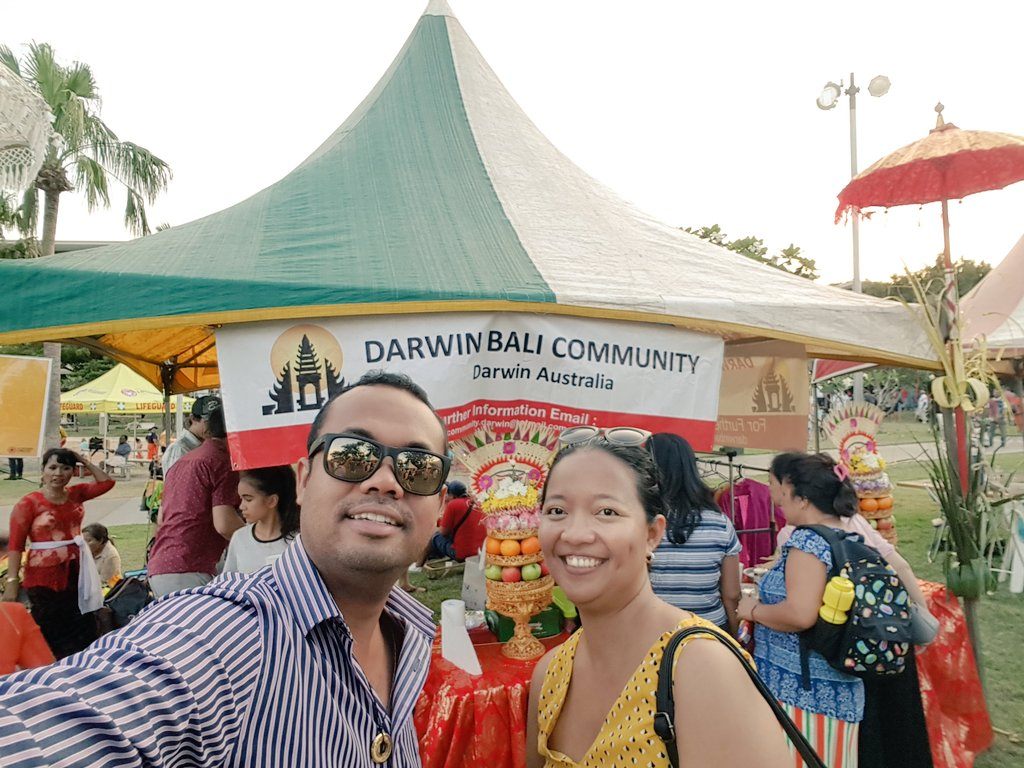 Harmony Soiree 2018! Another amazing multicultural event in this multicultural city!! #DarwinWaterFront https://t.co/fAGXPWRYzq