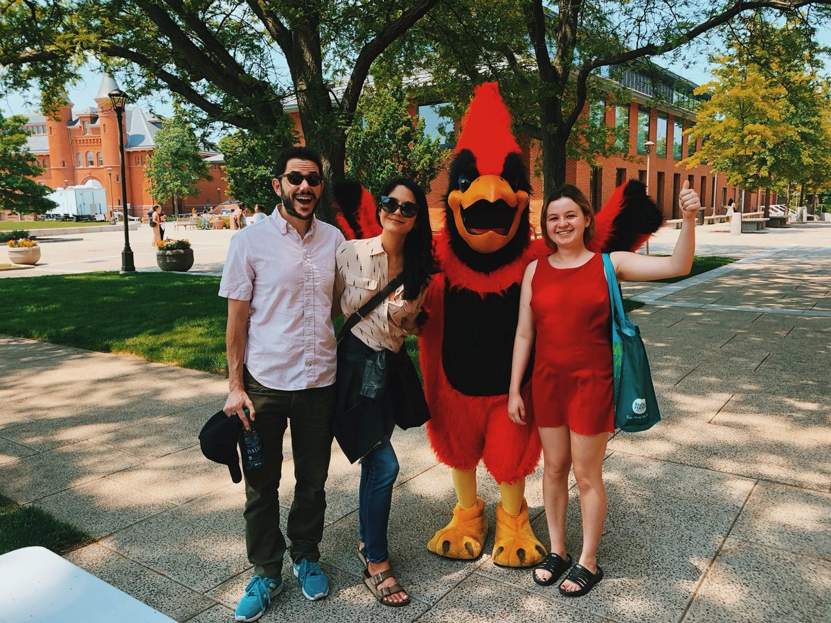 test Twitter Media - RT @MsLynnChen: Two @wesleyan_u alums w our cousin, future class of 2022 (not the bird) https://t.co/pa9ATLLFk4