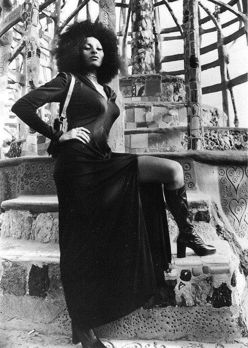 "Happy Birthday!!  Pam Grier aka Original \""Foxy Brown\"" turning 69 today."