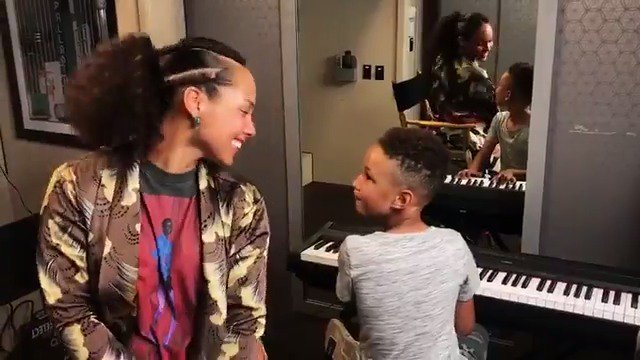 Best duet everrrrr !!!!! Love this boy!! He's so excited about music  My bestie!! ❤️❤️???????? ???? ???? ???? ???? ???? https://t.co/QBWHF87WXM
