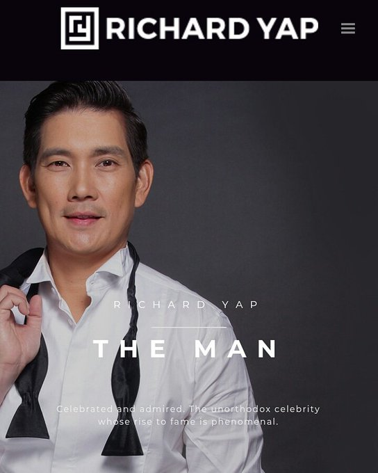 You got it all Mr. Richard Yap, you\re THE MAN! Happy birthday!