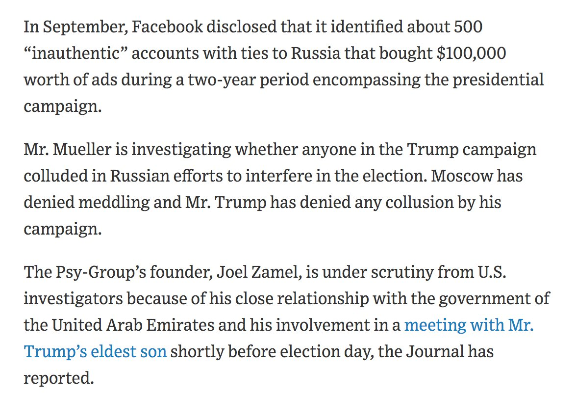 RT @ericgarland: Everyone is caught. Don Jr may face the Death Penalty. https://t.co/AWZhTB3GAV