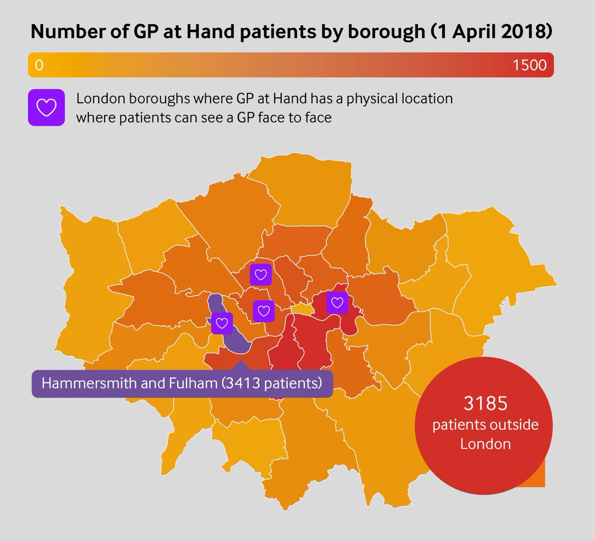 test Twitter Media - Analysis by @LondonwideLMCs and this graphic from @will_s_t show the extent to which patients from London and beyond have registered with GP at Hand: https://t.co/lFsbacIP8x @Garethiacobucci reports https://t.co/zsw6UuW2Cr