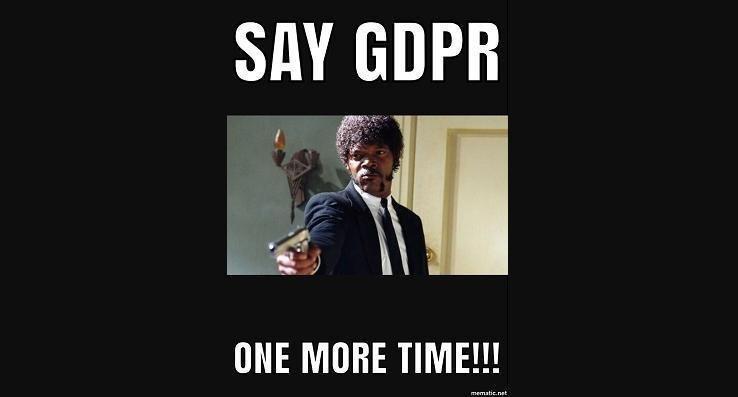#GDPR