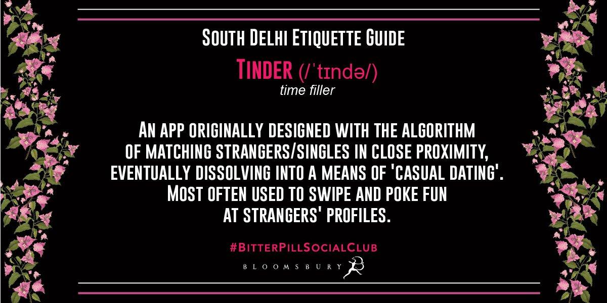 Tinder or time filler? #BitterPillSocialClub @rodahiya https://t.co/BXJFgeE0Jf