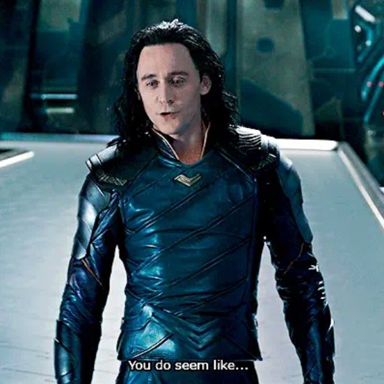 RT @CAPTAlNERD: Loki meeting the Avengers just after they fucked up their plan to destroy Thanos in Avengers 4 https://t.co/3uuxwlQOSC