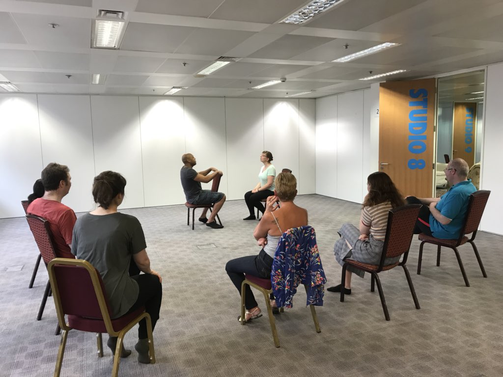 RT @ActingHour: A quick sneak peek from our acting class today! #ActingHour #AHevents https://t.co/x6KbNdqmF0