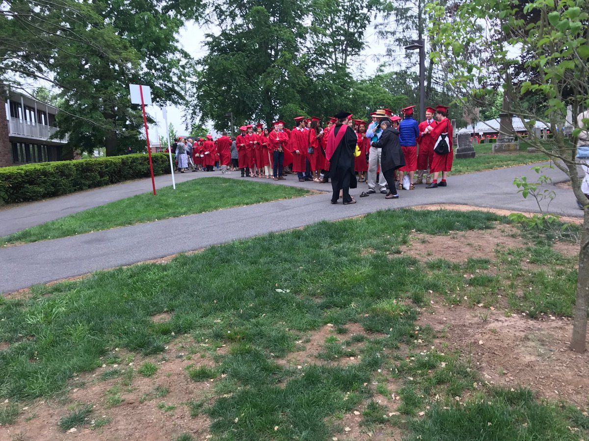 test Twitter Media - RT @mroth78: Students gathering for @wesleyan_u #commencement #Wes2018 https://t.co/qQilvezXHm