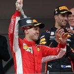 RT : A smiling Sebastian Vettel with...