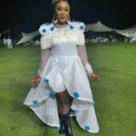 RT : Lady Zamar dressed like she's perf...