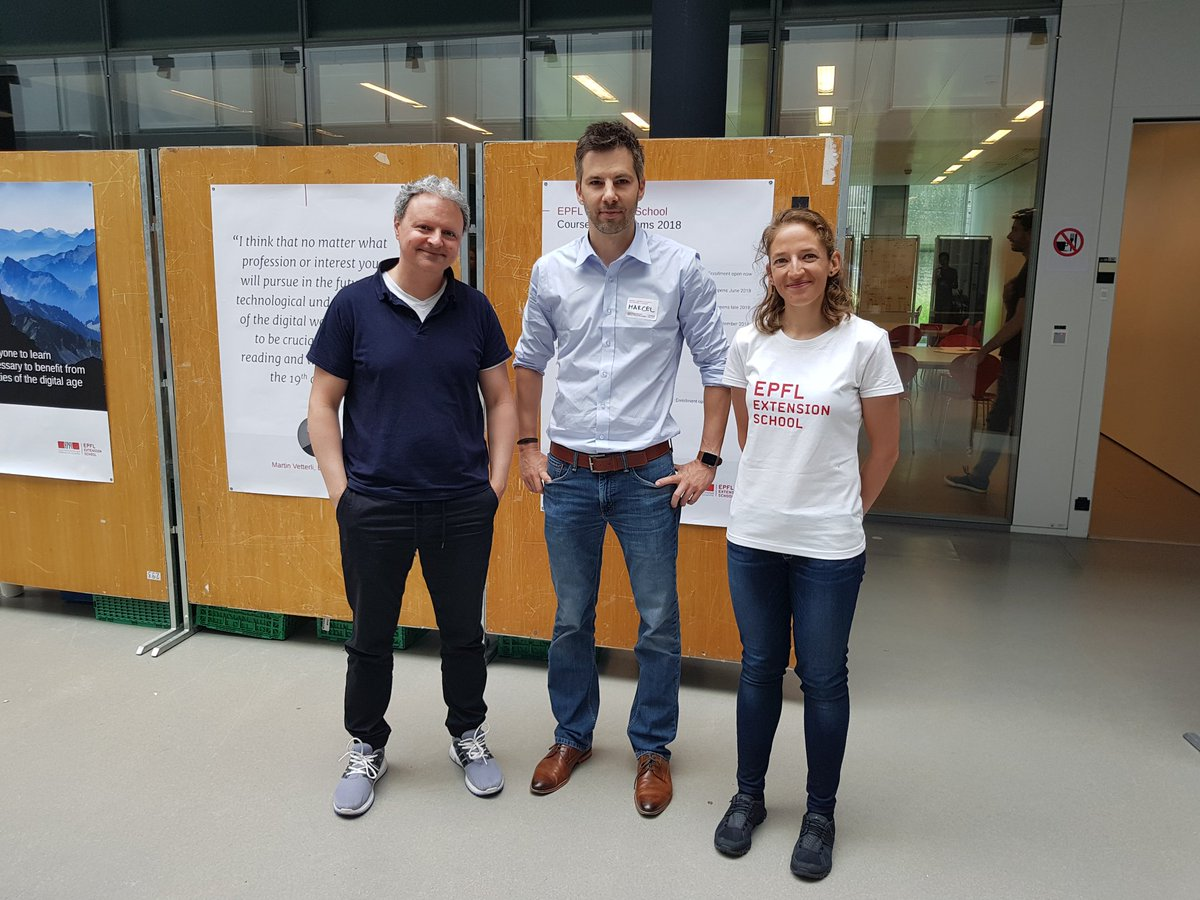 test Twitter Media - thanks @epfl_exts for the lovely weekend with lots of #python #DataScience and #pytorch #DeepLearning was nice meeting our instructor 🚴‍♂️@lindafarczadi & @marcelsalathe. yes we want more workshops! also in #zürich https://t.co/hnZyp0guIc