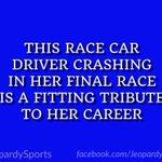 "RT : ""Who is: Danica Patrick?"" #Jeo..."