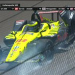 RT : Bourdais has crashed #Indy500 https...