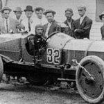 Ray Harroun won the inaugural #indy500 in 1911. Ho...
