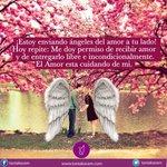 💖¡Estoy enviando ángeles del amor a tu lado!💖 #Fel...