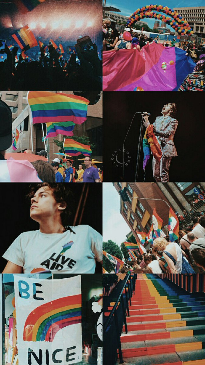 RT @reservaxio: Harry Styles 🌈 rt se salvar / fav se gostar ⚡ /ness #HarryStylesLiveOnTourBrazil https://t.co/wQjgSLpSYg