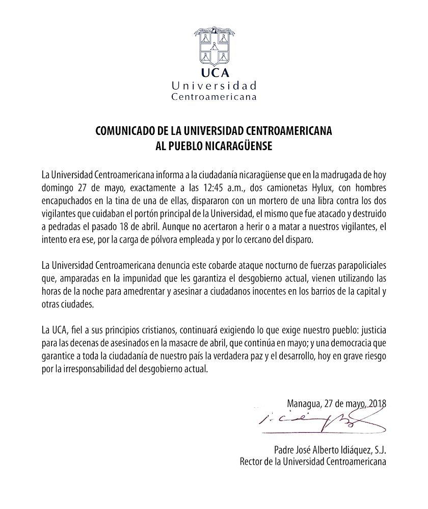 RT @Bacanalnica: Hay alguien que todavía en Nicaragua respete al Gobierno? https://t.co/btxzUg1N66
