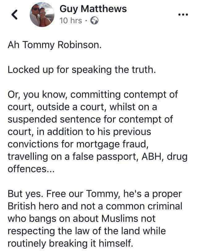 Don't #freetommy don't #FreeTommy #ThisMorning #GMB #FreeSpeech https://t.co/BcuLoihAHc