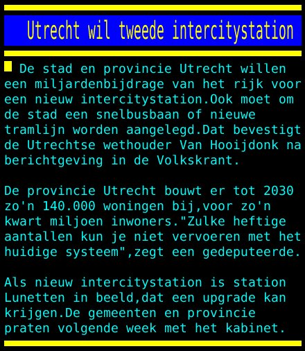test Twitter Media - Utrecht wil tweede intercitystation https://t.co/Hv4wO4QBUs