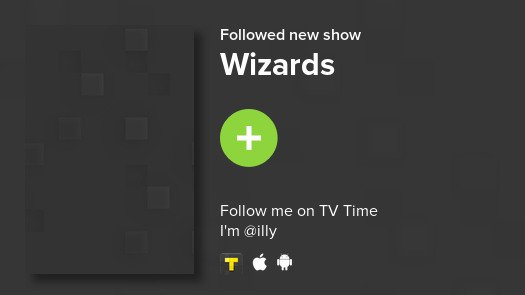I just added Wizards to my library! #tvtime https://t.co/aTyWYnR247 https://t.co/IeRlkAE2AE