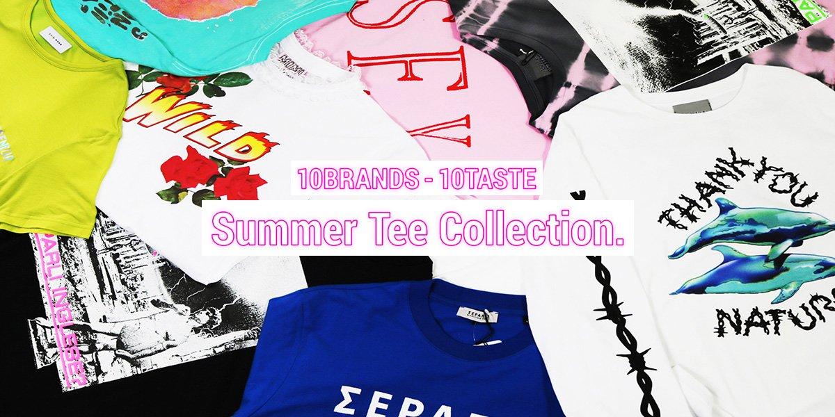 RT @k3_official_: ≪10BRANDS-10TASTE Summer Tee Collection.≫ k3がおすすめする10ブランドのTシャツをご紹介。ぜひ夏の逸品を見つけてみてください。https://t.co/sY9XYgXI0a https://t.co…
