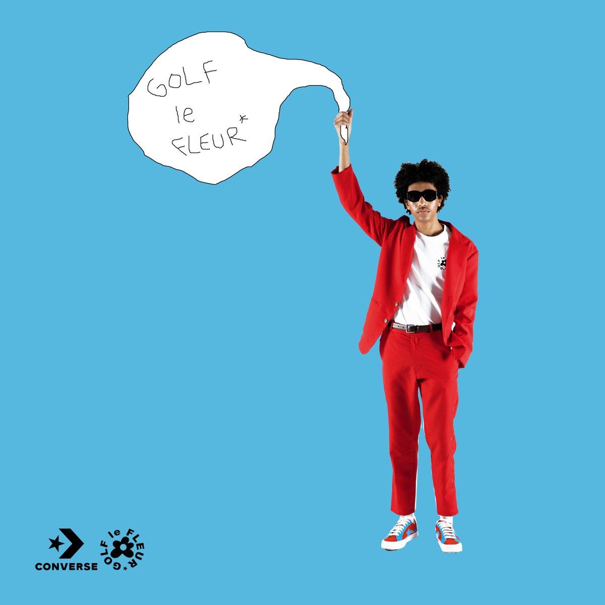 Red And Blue Dreams Come True Golf Le Fleur X Converse