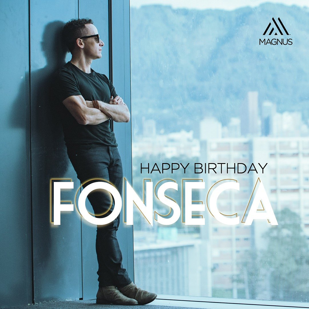 ¡@Fonseca Feliz Cumpleaños. God bless today and always! https://t.co/h6JaNclwrL