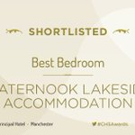 RT @CHS_Group: Congratulations to @Waternook for being shortlisted in the #CHSAwards! https://t.co/ZkkwQc8FlR