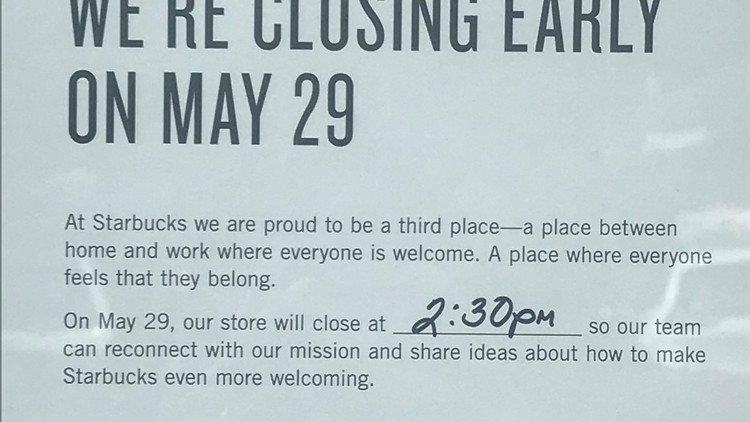 cdac41ed4 Starbucks is closing its stores for racial bias training today. some ...