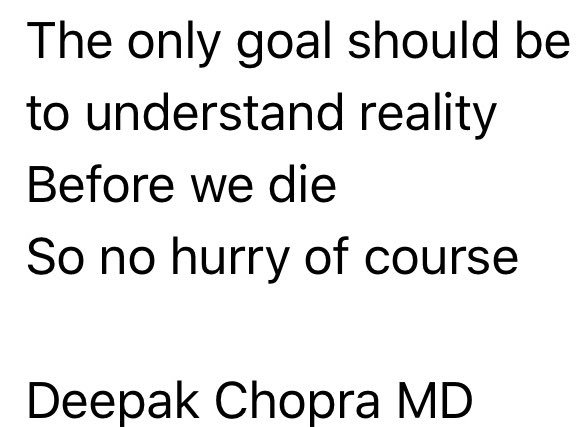 When you dad is @DeepakChopra and you ask him for some practical advice! https://t.co/tvzYbWiU6C