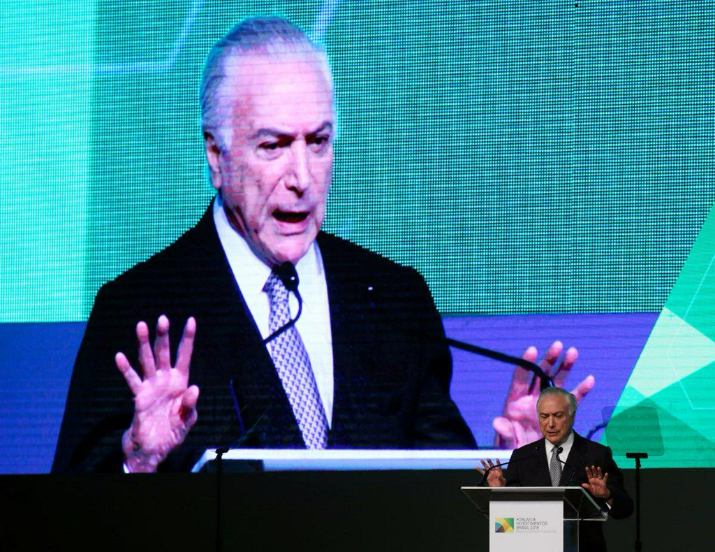 Brazil's Temer says no threat of a coup amid truckers' protest