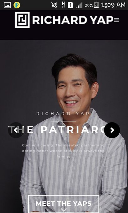 Happy Birthday Sir Richard Yap  Stay Humble  Strong and Goodhealth for you..