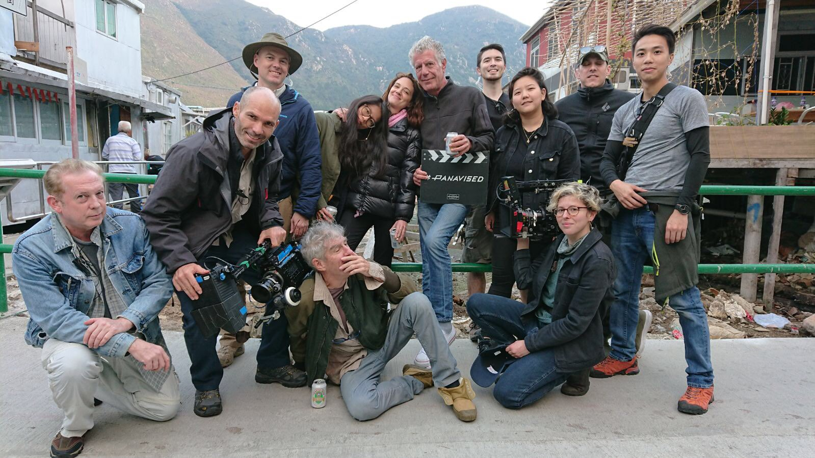 Crew photo from this Sunday's epic HONG KONG @PartsUnknownCNN Directed by @AsiaArgento Director of Photography @dukefeng52 (Christopher Doyle) https://t.co/iV5mq23o0w
