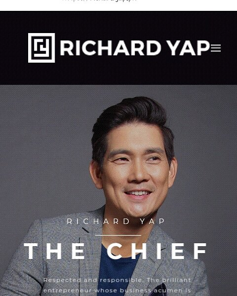 Happy Happy Birthday sir Richard Yap!  We love you!   Godbless you more Stay Healthy always!