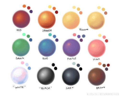 15 cont) using shifts in temperature and hue make for interesting shading https://t.co/tXwSiGjFeq