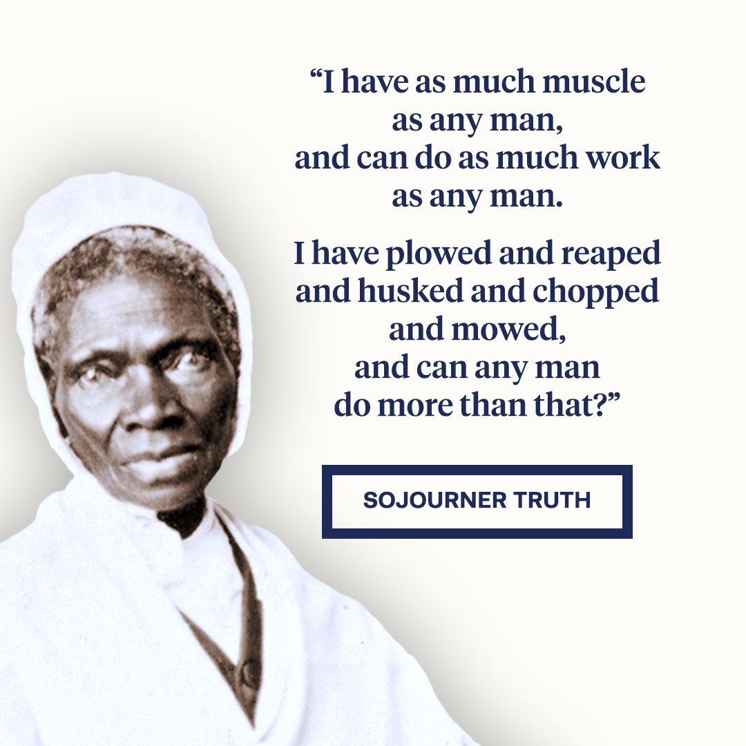 sojourner truth ain t ia woman