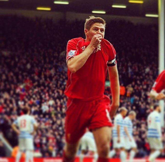 Happy Birthday Captain Steven Gerrard