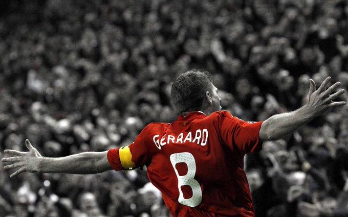 The best there was The best there is The best there will ever be. Happy Birthday Steven Gerrard. YNWA!