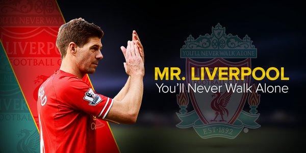 "Happy Birthday\""Steven Gerrard\"""