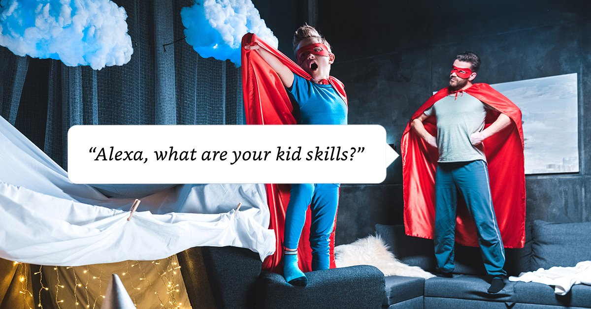 Keep the little ones entertained this half term. Discover new Alexa Skills for kids. https://t.co/0pwGByJzUg https://t.co/9UNjDRmntD