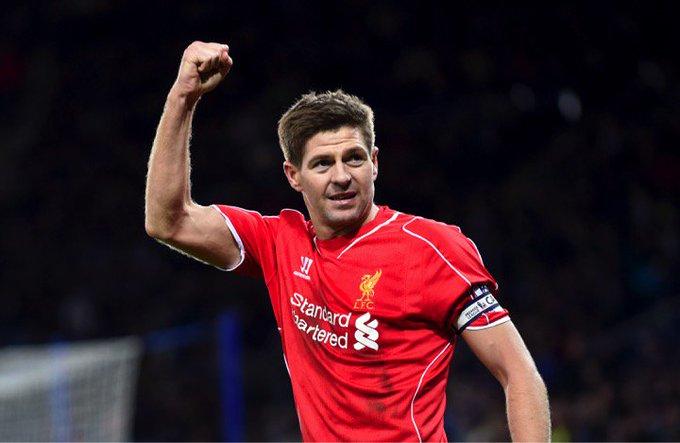 Liverpool legend  Rangers manager Happy birthday, Steven Gerrard