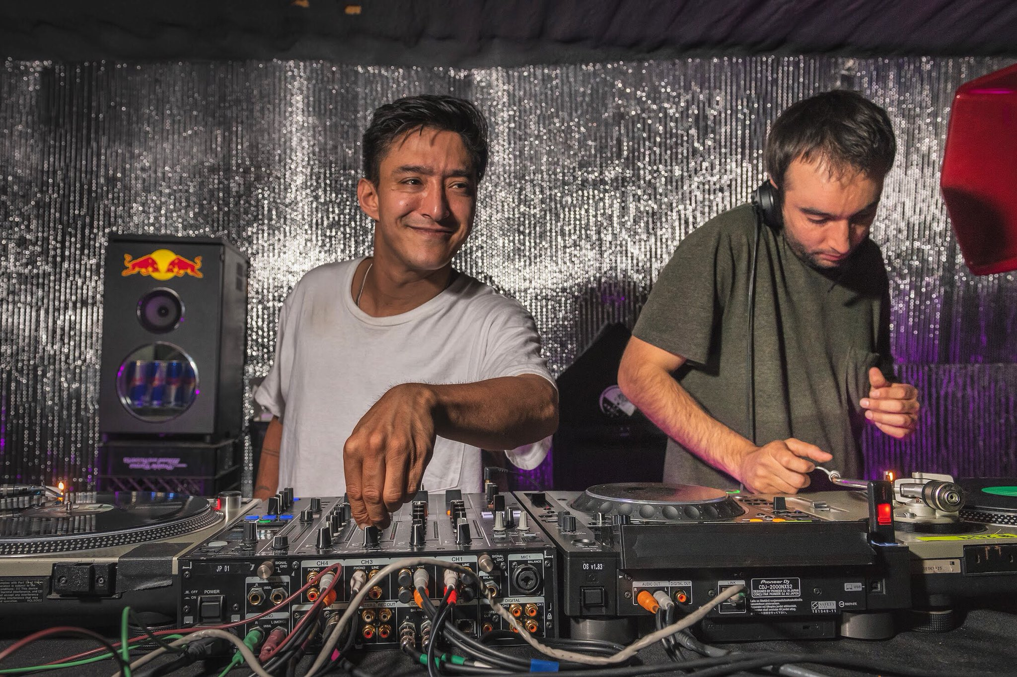 Pablo R. Ruiz b2b @__SHIGETO at the @ghostly @MovementDetroit official opening party, last Friday  📷 @funkytreetown https://t.co/uaof2m6FkO
