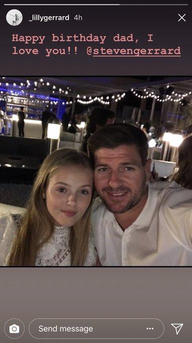 Happy birthday to Steven Gerrard