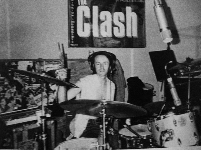 Happy Birthday to the one and only Drummer Topper Headon of The Clash!!!