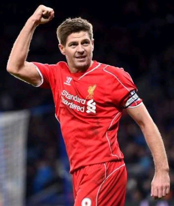 Happy birthday Steven Gerrard   Liverpool Legend