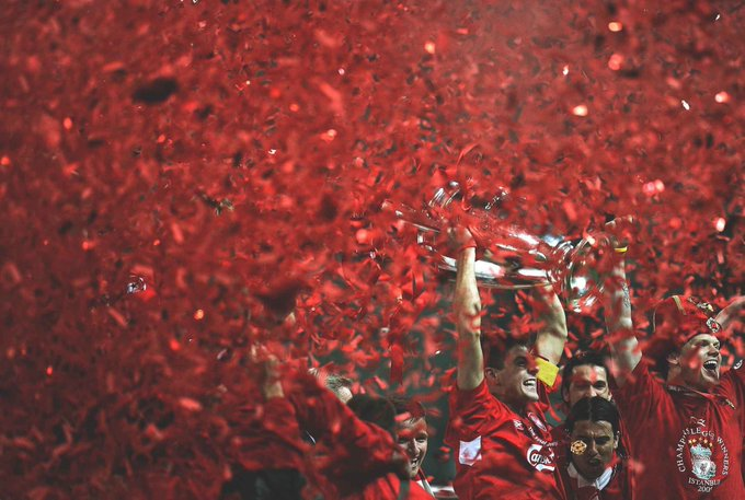 My hero. Happy Birthday Steven Gerrard!