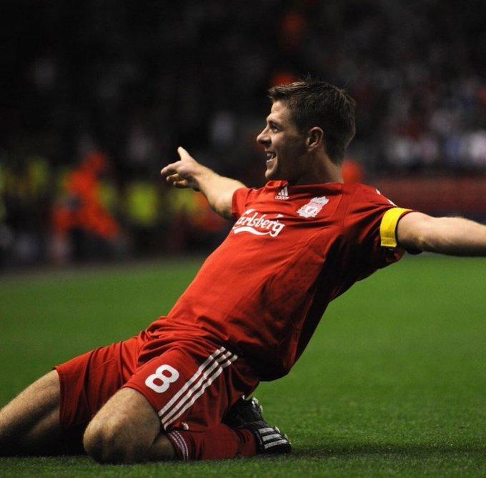 Happy Birthday to the best midfielder in the premier league history  Steven Gerrard