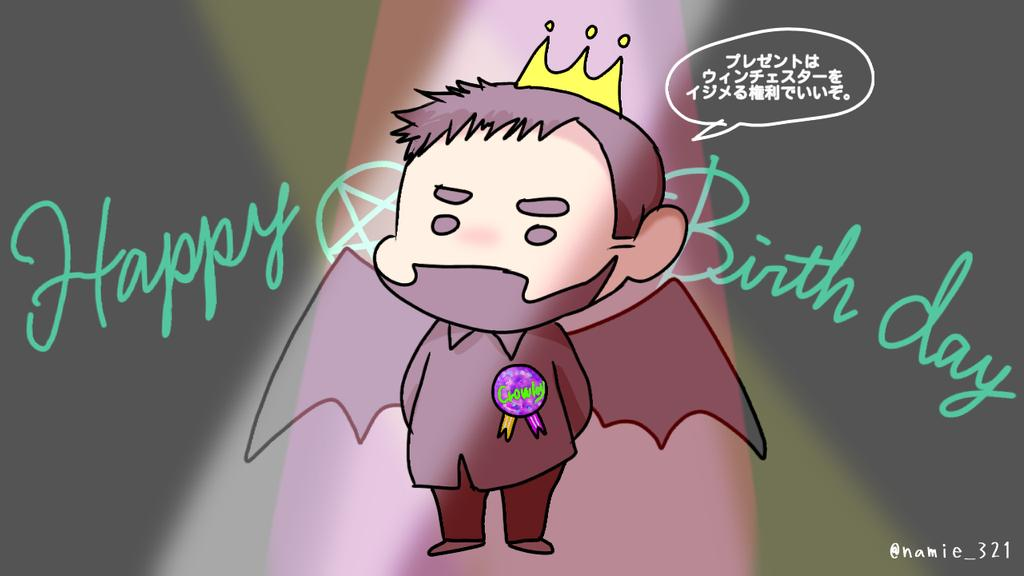 Happy Birthday! Mark Sheppard ! Your acted crowley was awesome XD